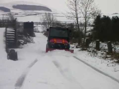 RescueMax clearing snow Jan 2013