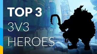 The 3 heroes which I personally think are the strongest in 3v3 elimination! ===================== www.danielfenner.com Twitch: www.twitch.tv/fenn3r ...