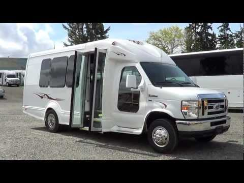 Northwest Bus Sales - New 2012 Ford Starcraft 14 Pass with Rear Luggage - S55296