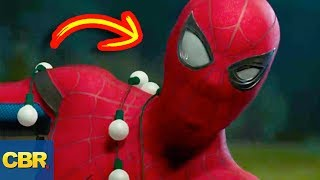 """What secret did Spiderman Homecoming not show us about Spidey's super powers? 10 Secrets That Spiderman Is Hiding About His Superpowers! Subscribe to our channel: https://goo.gl/wMuSDDSpider-Man's sixth sense is the bane of his arch enemies but if he'd been in big trouble is he lost this ability. Or could he adapt to such a set back? Or even worse, he could lose all of his powers completely but due to everyday exhaustion or a lack of confidence. Do spiders have shrinks? Because a near death, wait - a total death experience is going to mess with Parker's head when he is thrust into a conundrum when be became a Totem Spider God. Even a God can talk to those beneath him, like regular everyday spiders but I doubt that they'll tell him much. Maybe they would have told him signing on to his dumbest idea to date; The Spider-Mobile, turned out to a dead end gimmick. Another snag is the kill switch that Tony Stark implanted in the suit of armour he build for Peter, you know, in case he decides to defect. Parker discovered he can hide from Death like in """"The Other"""" crossover but a great deal of soul searching gave him some worthwhile powers. However, in simpler times when Peter was struggling to maintain home, school and superhero duties his utility belt was a handy life saver and more than his Fanny Pack. Most importantly Peter needs to hide his identity behind his iconic mask which does a lot more than conceal his face and protect it from his enemies. And at the end of the day we all know Parker needs to celebrate with a hearty meal, or twelve thanks to his super metabolism. Something that is as much a benefit and it is a weakness. Do you think that the Web Slinger should be more cautious about this powers and tech? Just follow the webs to find out for yourselves."""