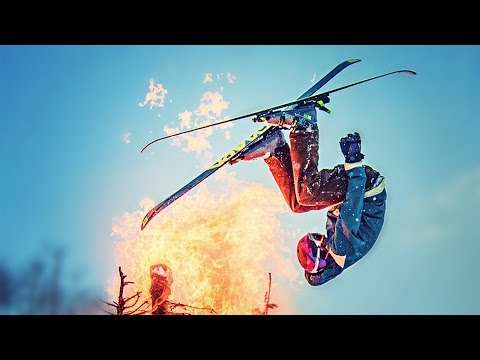 Snow Jump through Flaming Ch...