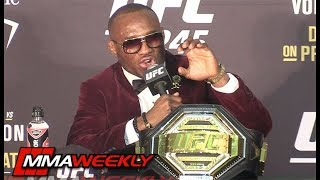 Kamaru Usman addresses the eye pokes w/ Colby Covington  (UFC 245) by MMA Weekly