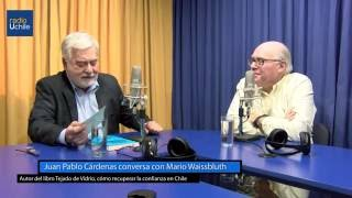 Juan Pablo Cárdenas conversa con Mario Waissbluth