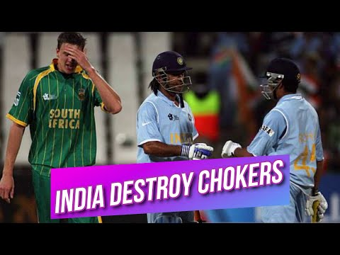 India Destroy South Africa and through to The Semi Final of T20 World Cup 2007 Highlights