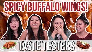 Video SPICY WINGS TASTE TEST! | Taste Testers | EP 8 MP3, 3GP, MP4, WEBM, AVI, FLV Agustus 2018