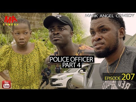 POLICE OFFICER part 4 (Mark Angel Comedy) (Episode 207)