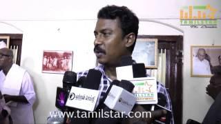 Samuthirakani at Kamaraj Movie Shooting Spot