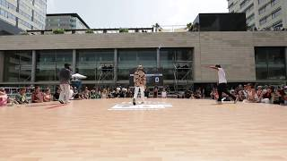 Prince vs Gator – World Battles in Popping and Bboying, Live Music and Fiesta Final
