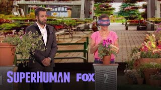 """Dawn takes the """"Leave It To Me"""" challenge.Subscribe now for more Superhuman clips: http://fox.tv/SubscribeFOXWatch more videos from Superhuman: http://fox.tv/SuperhumanSeason1PlaylistSee more of Superhuman on our official site: http://www.fox.com/superhumanLike Superhuman on Facebook: http://fox.tv/SuperHuman_FBFollow Superhuman on Twitter: http://fox.tv/SuperHuman_TWFollow Superhuman on Instagram: http://fox.tv/SuperHuman_IGLike FOX on Facebook: http://fox.tv/FOXTV_FBFollow FOX on Twitter: http://fox.tv/FOXTV_TwitterAdd FOX on Google+: http://fox.tv/FOXPlusGet ready to have your mind blown when SUPERHUMAN returns Monday, June 12 (9:00-10:00 PM ET/PT) on FOX. Hosted by actor Kal Penn, this jaw-dropping one-hour competition series will test the abilities of ordinary people to use their extraordinary skills to win a $50,000 grand prize. In each episode, five contestants who possess a distinct, nearly super-human ability in fields such as memory, hearing, taste, touch, smell, sight and more are challenged to push their skills to the limit, yet only one will take home the title of SUPERHUMAN and the $50,000 grand prize.Dawn Must Identify Each Plant Blindfolded  Season 1 Ep. 7  SUPERHUMANhttp://www.youtube.com/FoxBroadcasting"""