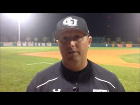 Campbell Baseball at Charleston 3/25/15