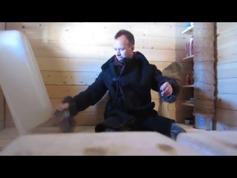 русскую паровую баню зимой надо сушить. Часть 1 - DomaVideo.Ru