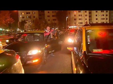 Χιλή: Οδηγοί ταξί εναντίον Uber