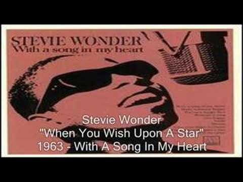 Tekst piosenki Stevie Wonder - When You Wish Upon a Star po polsku