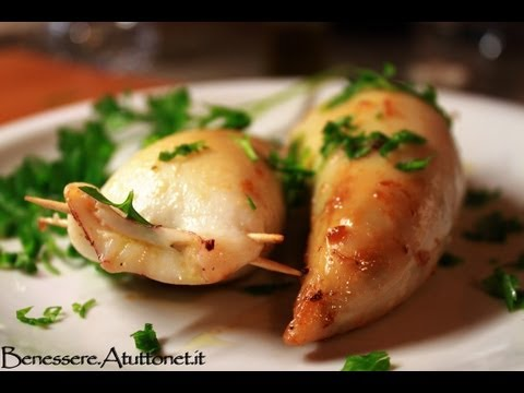 calamari ripieni: ricetta facile e veloce