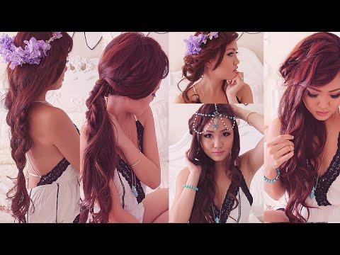 4 Easy Boho Hairstyles