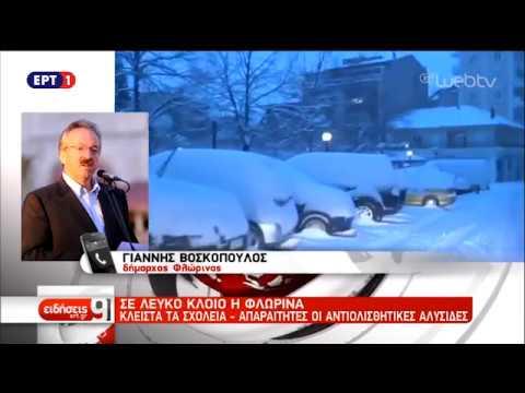 Κλειστά τα σχολεία στη Φλώρινα – Πλημμύρισε προβλήματα στη Ζάκυνθο | 18/11/18 | ΕΡΤ