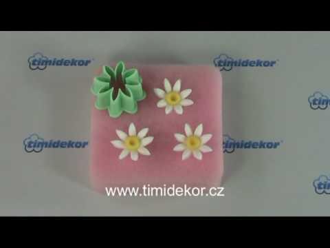 Vegyes virág kiszúró szett, 24 darab