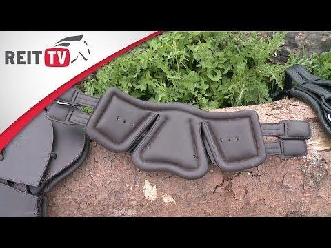 Equi-Soft® Sattelgurt - REITTV-Teamreiterin Celina testet den Sattelgurt von Stübben