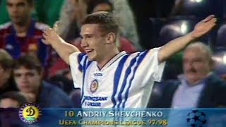 Video Andriy Shevchenko - Unforgettable Performance vs Barcelona 1997 MP3, 3GP, MP4, WEBM, AVI, FLV September 2019