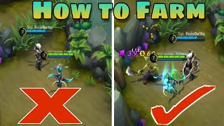 How To Farm Like A Pro  Full Explained  Mobile Legends