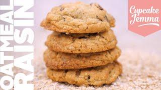 Oatmeal Raisin New York Cookies! | Bake At Home | Cupcake Jemma by Cupcake Jemma