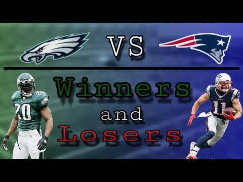Patriots vs Eagles Winners and Losers (видео)
