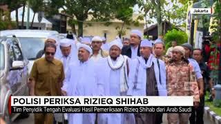 Polri telah memeriksa imam besar Front Pembela Islam (FPI) Habib Rizieq Syihab. Pemeriksaan dilakukan di luar negeri yakni di Arab Saudi.Kapolri Jenderal Tito Karnavian menyampaikan pihaknya telah memberangkatkan tim ke Mekah untuk memeriksa Rizieq. Rizieq diperiksa sebagai tersangka dalam kasus dugaan pornografi di situs baladacintarizieq.Merdeka dalam Bhinneka adalah tema CNN Indonesia dalam perayaan ulang tahun kemerdekaan RI ke 72 atau kita bisa menyambutnya dengan Dirgahayu RI ke 72.  Merdeka dalam Bhinneka merupakan simbol kecintaan CNN Indonesia terhadap Indonesia sebagai tanah air dan bangsa yang berdaulat dan merdeka. Dirgahayu RI ke 72 di tahun 2017 ini. Ikuti berita terbaru di tahun 2017 dengan kemasan internasional berbahasa Indonesia, dan jangan ketinggalan breaking news 2017 dengan berita terakhir dan live report CNN Indonesia di https://www.cnnindonesia.com dan channel CNN Indonesia di Transvision. Follow & Mention Twitter kami :@myTranstweet@cnniddaily@cnnidconnected @cnnidinsight @cnnindonesia Like & Follow Facebook:CNN IndonesiaFollow IG: cnnindonesia