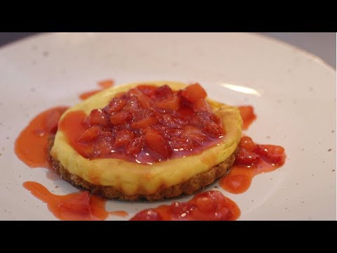 Video - Receta fácil de cheesecake de fresas