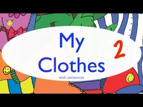 Clothes 2 - Sentences