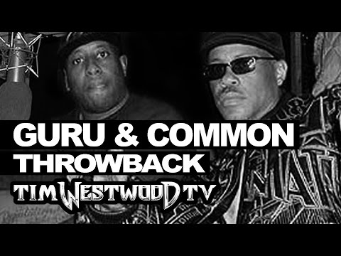 GURU & COMMON FREESTYLE BACK TO BACK ON NEXT EPISODE | THROWBACK 2000 WESTWOOD @TimWestwood