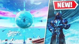 *NEW* Fortnite LIVE ICE STORM Event ACTIVATED A CLOCK! (Or a SUN?)