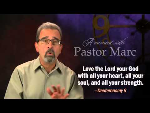 """A Moment with Pastor Marc #23<br /><strong>""""Be A Theophilus""""</strong>"""