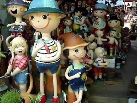 ตุ๊กตาดินเผา ร้าน สุวรรณ ลานด่านเกวียน