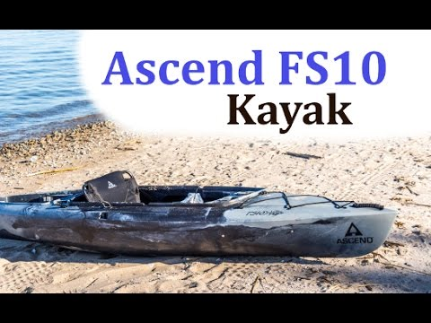 2015 Ascend FS10 Kayak Review – First Look