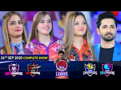 Game Show Aisay Chalay Ga League Season 3 | 26th September 2020 | Complete Show