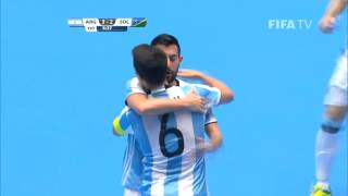 Watch highlights of the Argentinians and Solomons, who played a great match at the Futsal World Cup in Colombia. MORE...