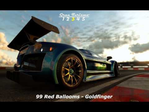 Gran Turismo Best Musics: 99 Red Balloons - Goldfinger