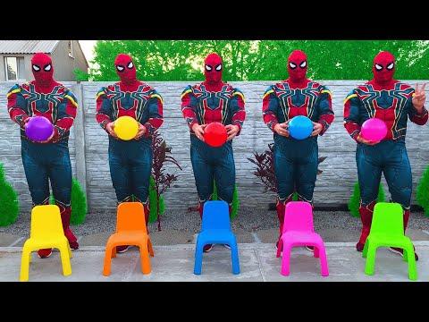 Team Spider-Man VS Team Siren Head