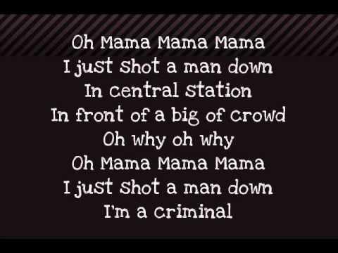 Rihanna - Man Down -Paroles/Lyrics