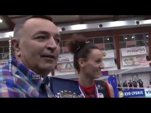 Finale Kupa Srbije za seniorke - dodela medalja