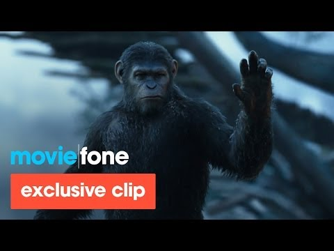 Andy Serkis - Exclusive clip from 'Dawn of the Planet of the Apes' starring Andy Serkis, Jason Clarke, Gary Oldman, Keri Russell, Toby Kebbell, Kodi Smit-McPhee, Kirk Acev...