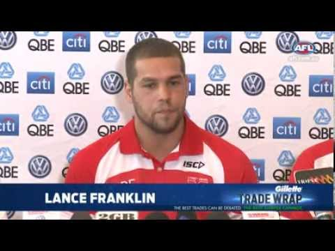 Sydney Swans unveil Lance Franklin - AFL