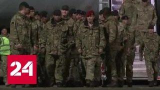 Британские военные высадились в Эстонии