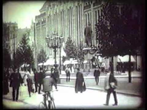 1909: Historische Aufnahmen von Düsseldorf im Jahr  ...