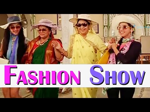 Dadi takes up the modern look for Fashion Show on