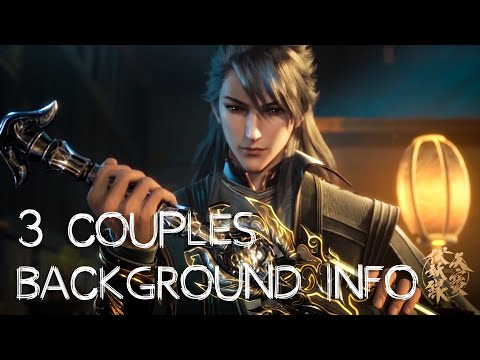 Background info/3 couples from novel Legend of Exorcism - ExplainIT