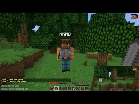 Český Let´s Play   Minecraft MP 1.3.2   Druhá série 001   Tak a opět začátek [PiP][HD]