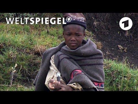 Lesotho: Eine Schule für Hirtenjungen | Weltspiegel