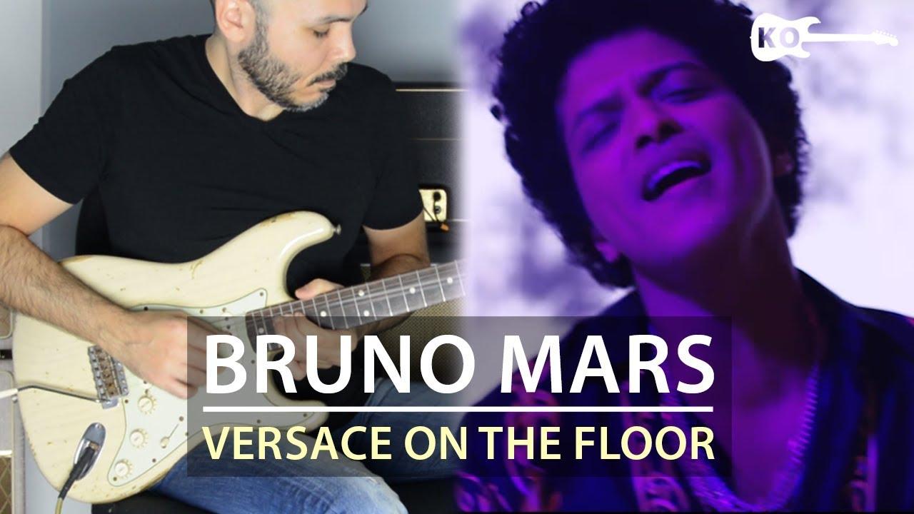 Bruno Mars – Versace on The Floor – Electric Guitar Cover by Kfir Ochaion