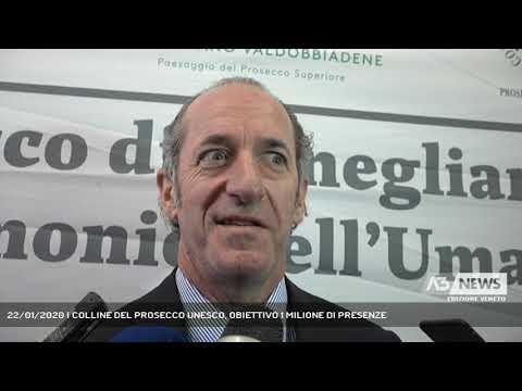 22/01/2020   COLLINE DEL PROSECCO UNESCO, OBIETTIVO 1 MILIONE DI PRESENZE